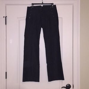 Sailor trouser, jeans material.